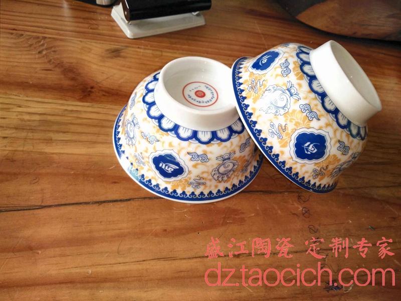 餐具定制成功案例 景德镇盛江陶瓷
