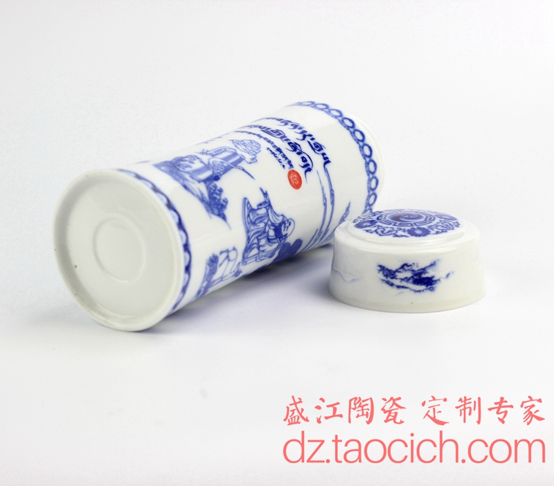 保温杯定制成功案例 景德镇盛江陶瓷