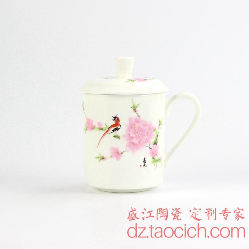 东南大学周年纪念杯定制成功案例 景德镇盛江陶瓷