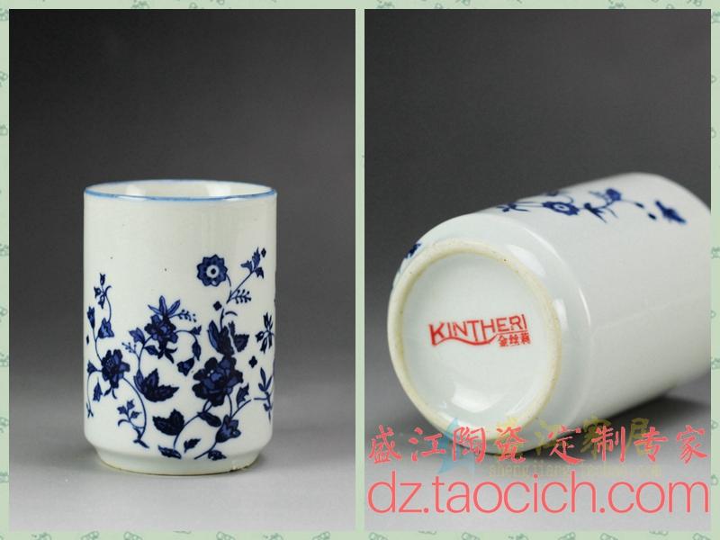 金丝莉茶杯定制成功案例 景德镇盛江陶瓷
