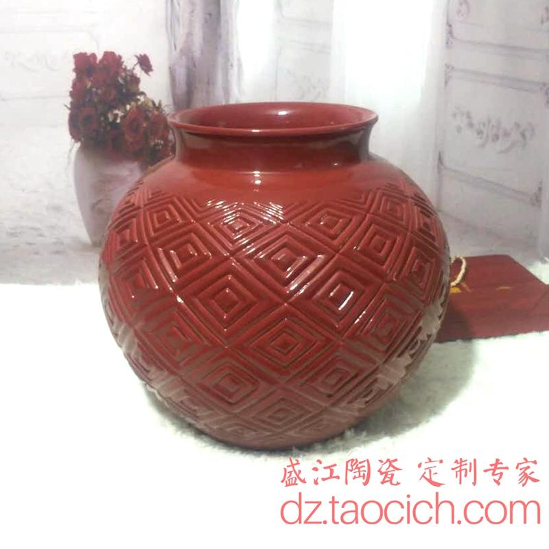 花瓶定制成功案例 景德镇盛江陶瓷