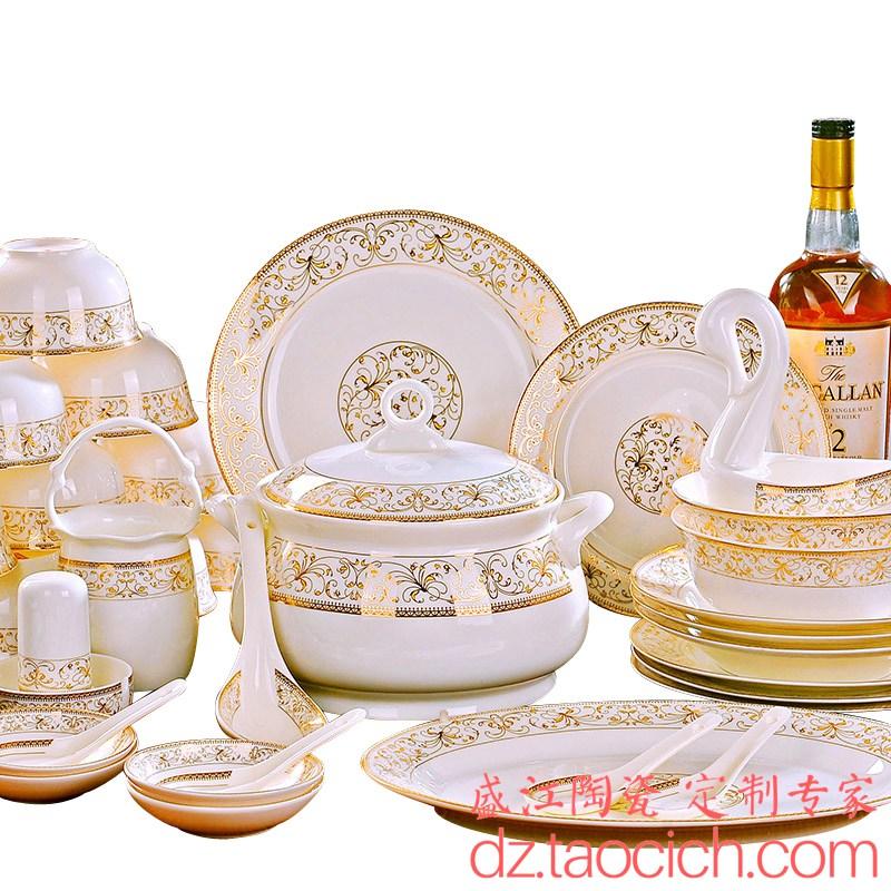 盛江陶瓷 星艺装饰礼品餐具定制成功案例