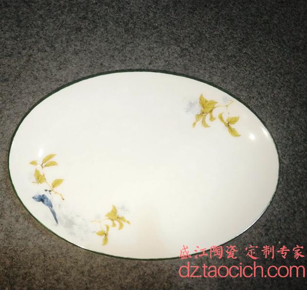 盛江陶瓷 瓷盘定制样品展示