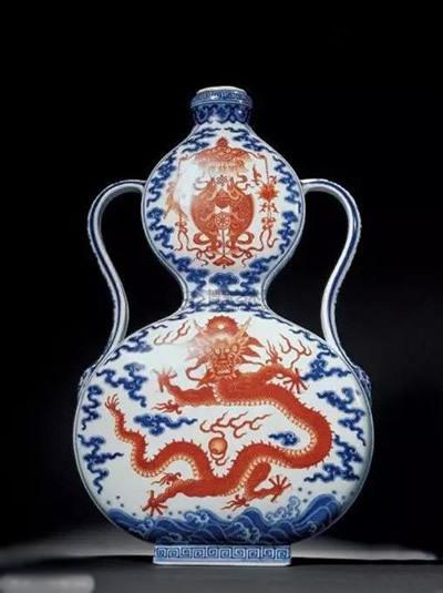 历史上中国瓷器拍卖真实成交记录