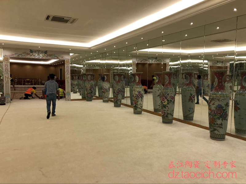中东皇室婚礼用瓷定制成功案例 景德镇盛江陶瓷
