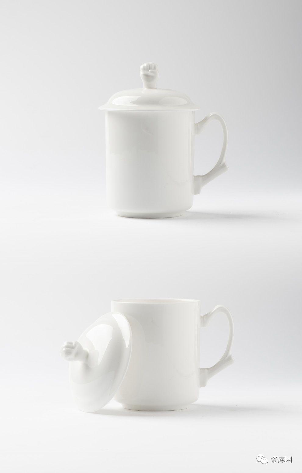 定制骨质瓷白瓷盖杯类23款